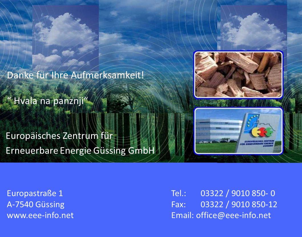 Europastraße 1Tel.: 03322 / 9010 850- 0 A-7540 GüssingFax: 03322 / 9010 850-12 www.eee-info.netEmail: office@eee-info.net Europäisches Zentrum für Ern