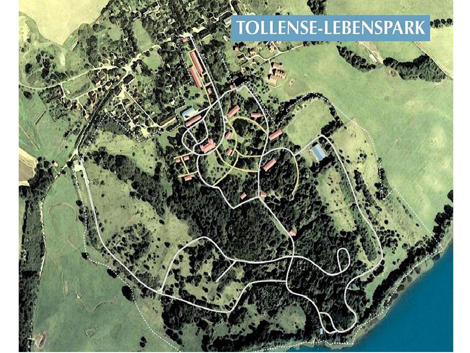 64 ha - 20 Häuser – 1 Schloss – 6 große Bunker – 10 kleine Bunker