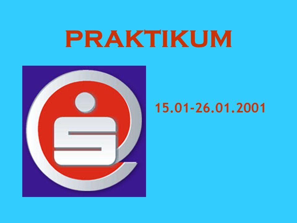 PRAKTIKUM 15.01-26.01.2001