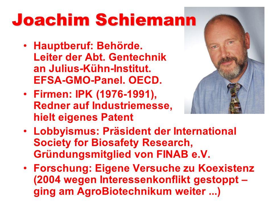 Prof. Kogel im Geflecht der Gentechnik-Seilschaften