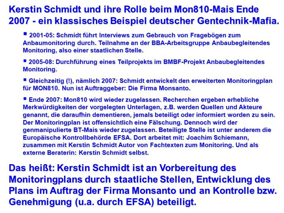 Hauptberuf: Behörde. Leiter der Abt. Gentechnik an Julius-Kühn-Institut. EFSA-GMO-Panel. OECD. Firmen: IPK (1976-1991), Redner auf Industriemesse, hie