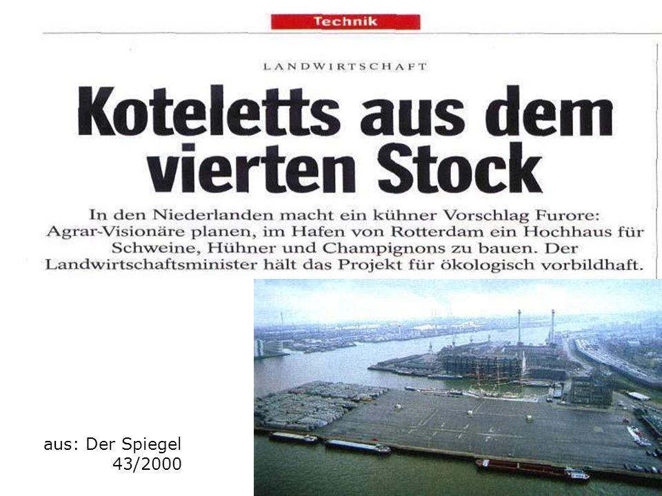 aus: Der Spiegel 43/2000