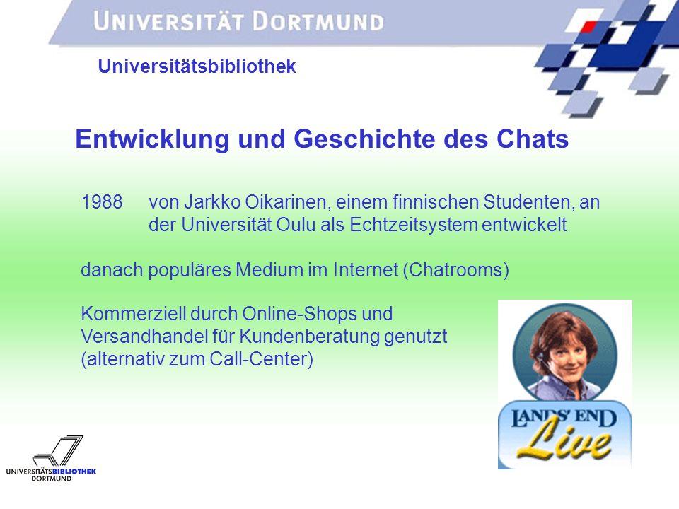 UNIVERSITÄTSBIBLIOTHEK Stella und ASKademicus- das Chatterbot-Traumpaar