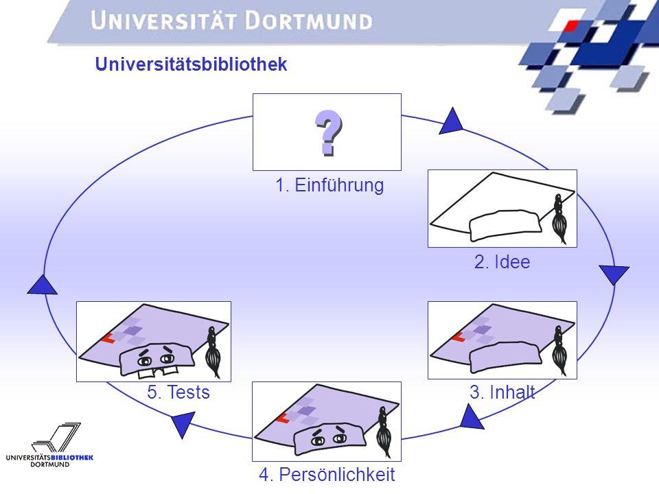 UNIVERSITÄTSBIBLIOTHEK Universitätsbibliothek 1. Einführung 2.