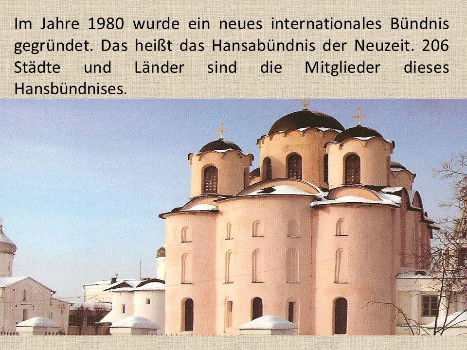 Im Jahre 1980 wurde ein neues internationales Bündnis gegründet.