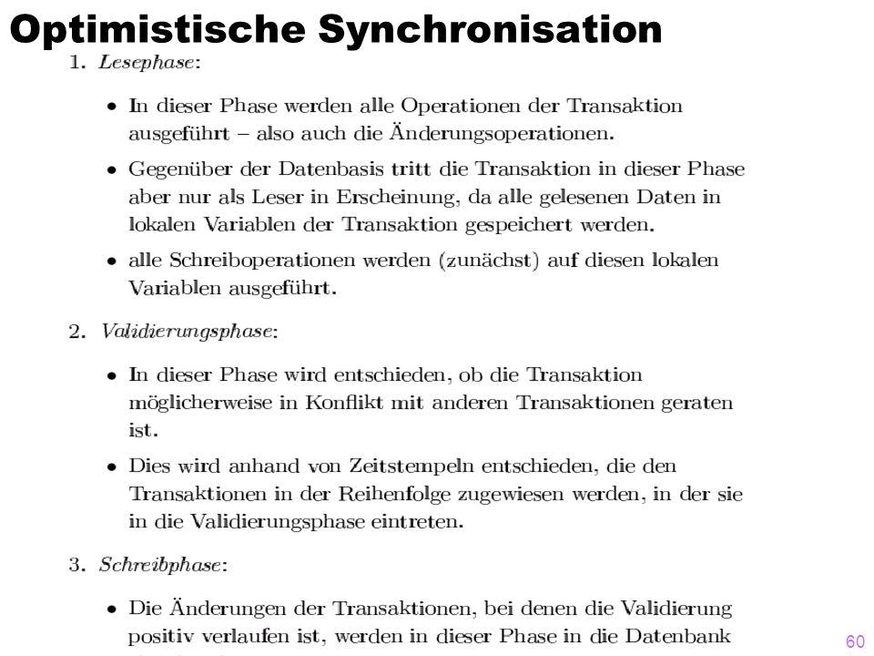 60 Optimistische Synchronisation