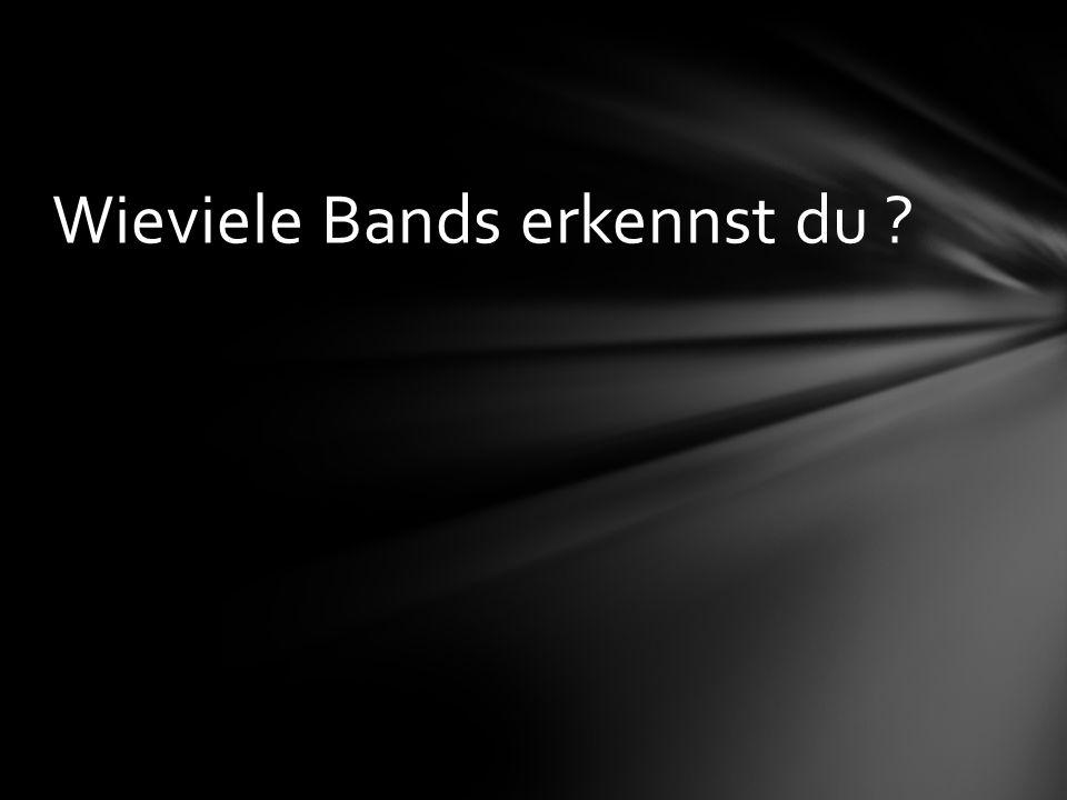 Wieviele Bands erkennst du ?