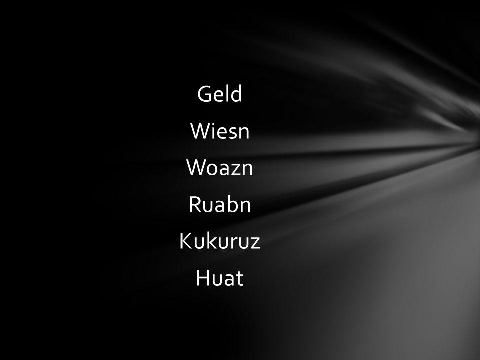 Wieviele Hauptwörter im Refrain aus dem Lied Brenna tuats guat kannst du aufzählen