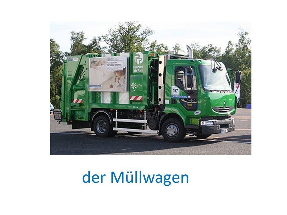 der Müllwagen