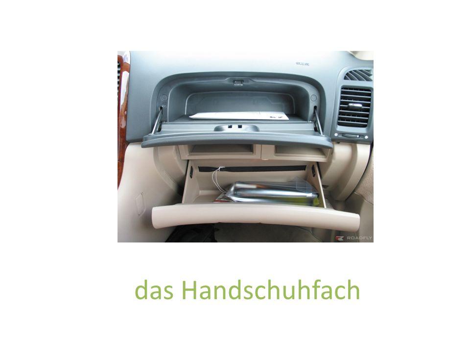 das Handschuhfach
