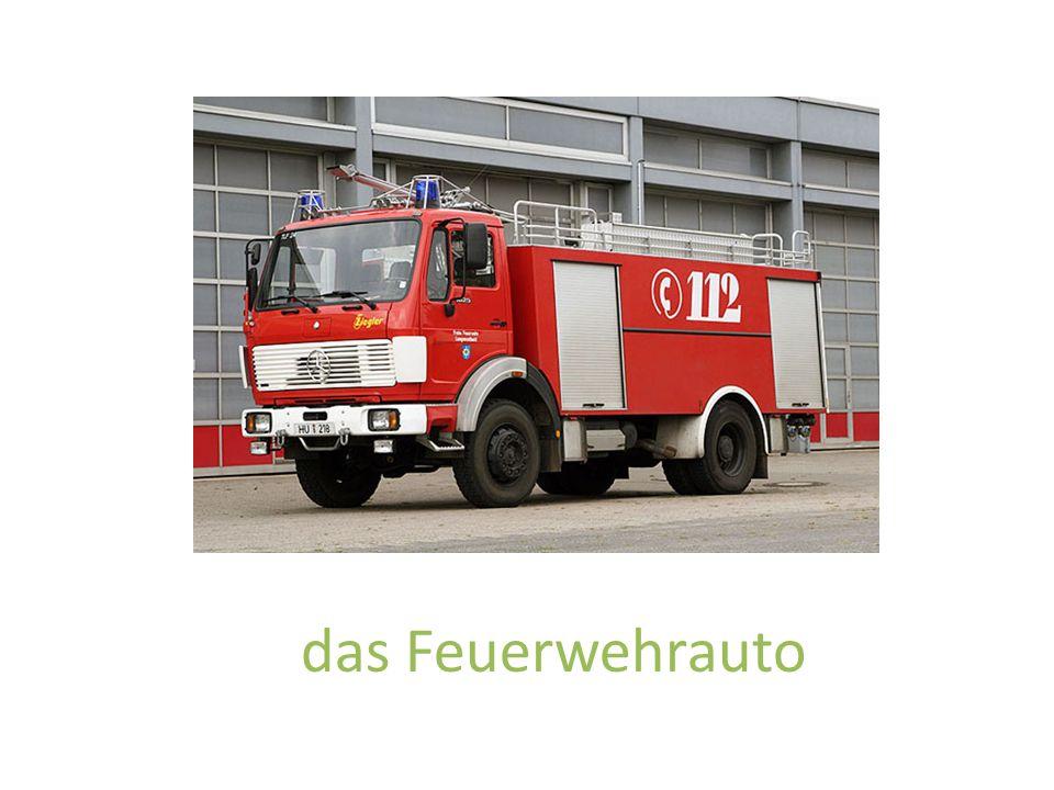 das Feuerwehrauto