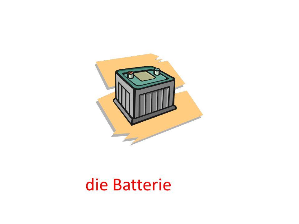 die Batterie