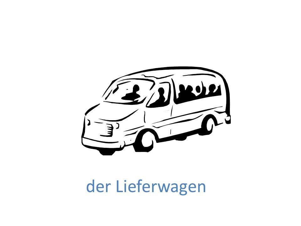 der Lieferwagen