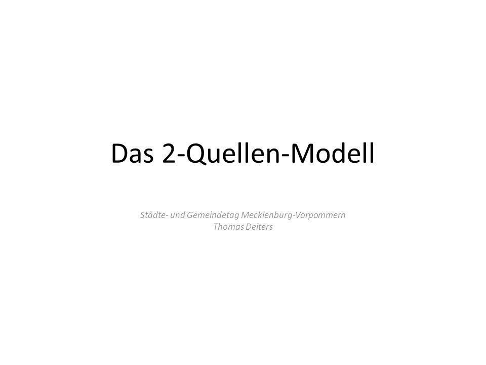 Das 2-Quellen-Modell Städte- und Gemeindetag Mecklenburg-Vorpommern Thomas Deiters