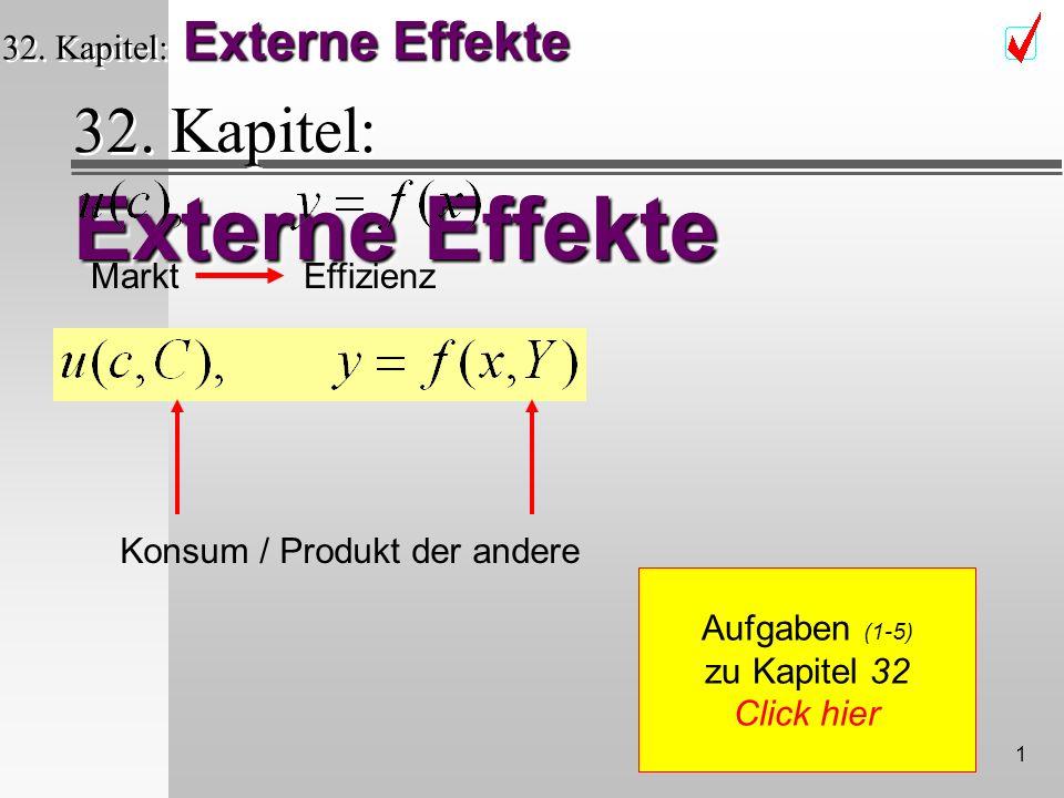 1 Externe Effekte 32.