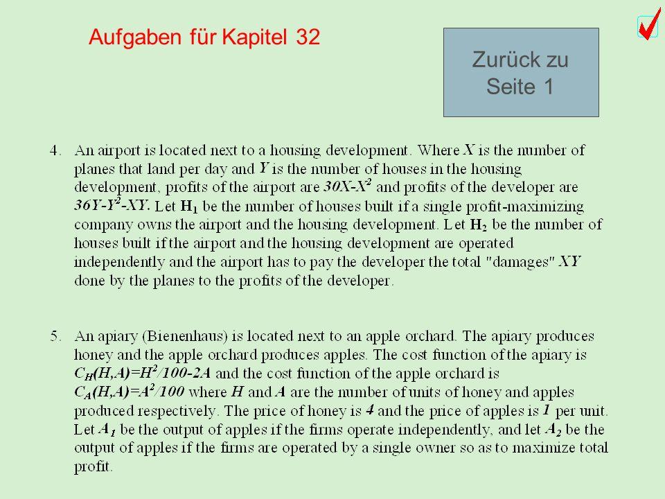 Aufgaben (1-5) für Kapitel 32