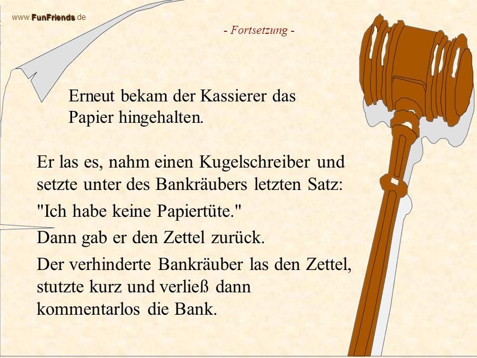 FunFriends www.FunFriends.de Kriminell in Saarmund Ziemlich dumm stellten sich Gangster in Saarmund bei Potsdam an, als sie versuchten, den Geldautomaten einer Bank zu stehlen.