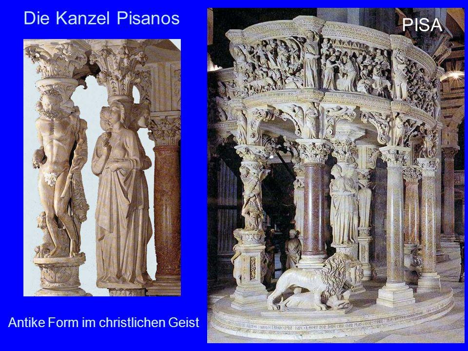 15 Die Kanzel Pisanos Antike Form im christlichen Geist PISA