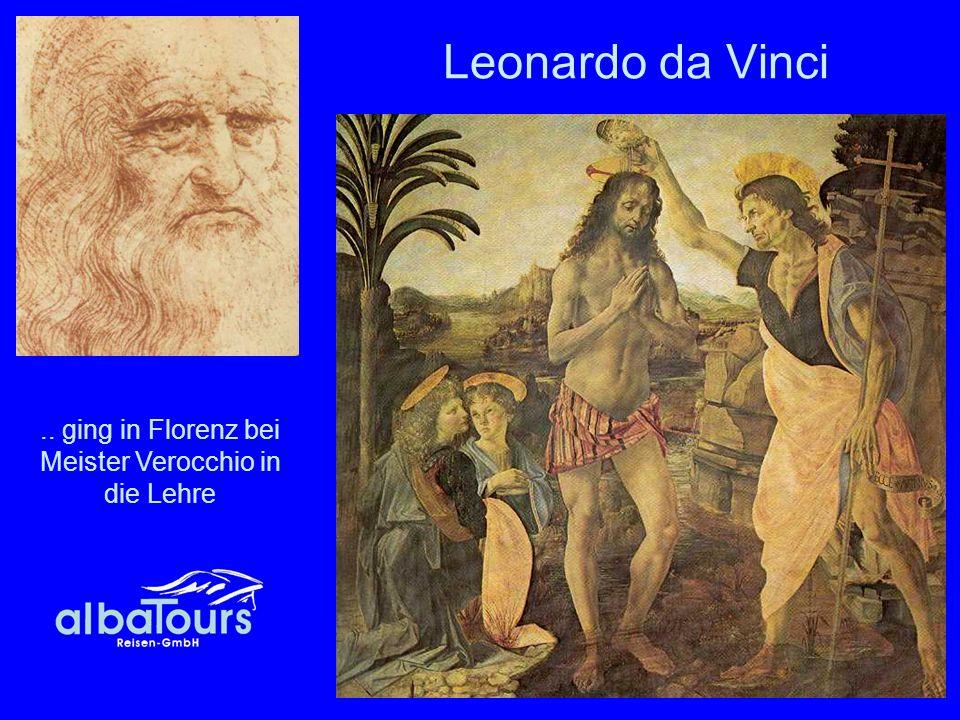 31 Leonardo da Vinci.. ging in Florenz bei Meister Verocchio in die Lehre