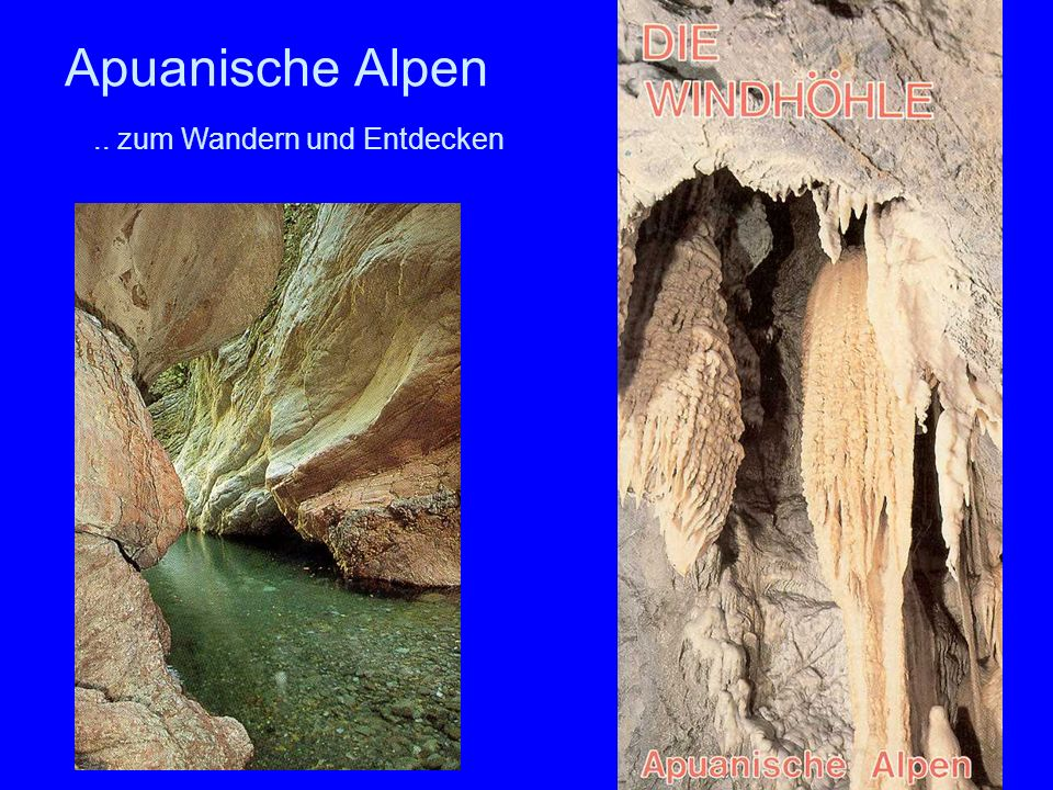 38 Apuanische Alpen.. zum Wandern und Entdecken