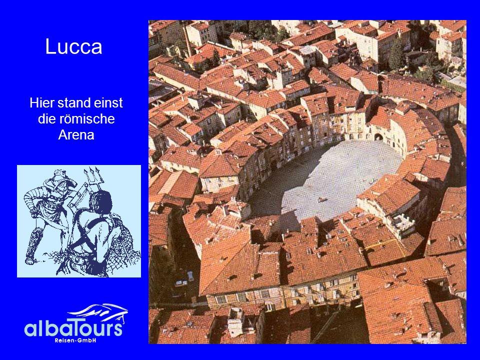 41 Lucca Hier stand einst die römische Arena