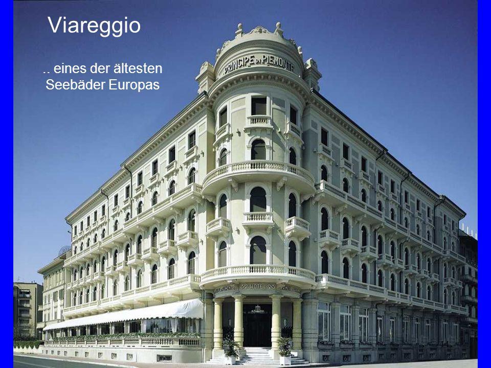 44 Viareggio.. eines der ältesten Seebäder Europas