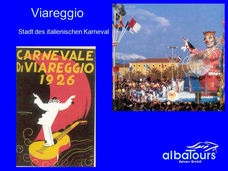 45 Viareggio Stadt des italienischen Karneval