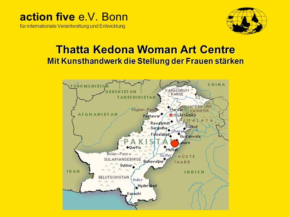Thatta Kedona Woman Art Centre Mit Kunsthandwerk die Stellung der Frauen stärken