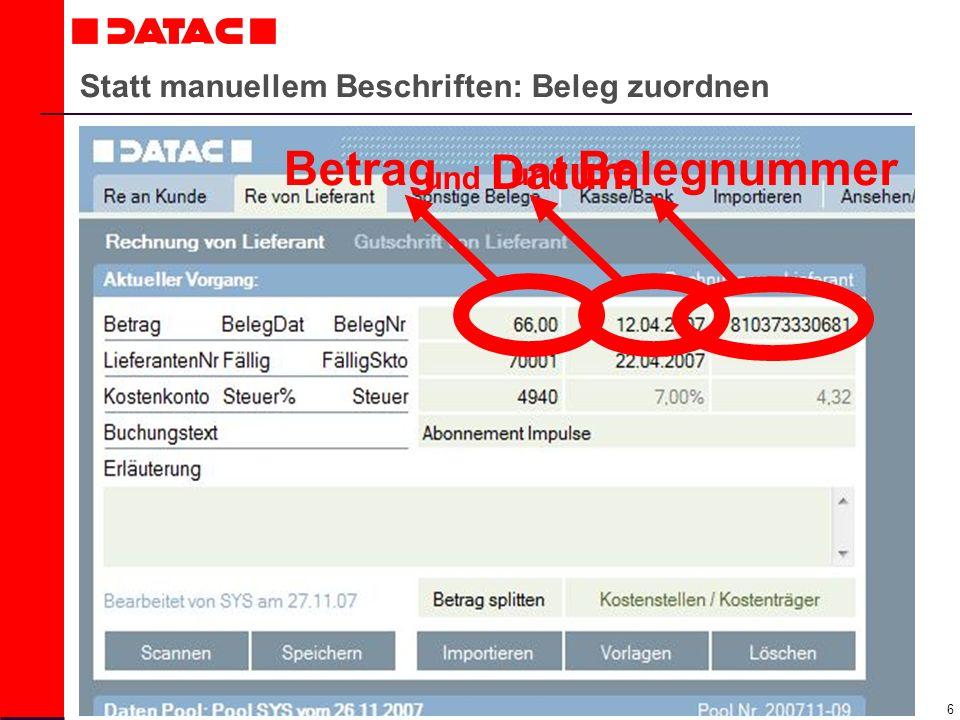 17 Mandant Buchhalter Daten-Pool wird versendet!