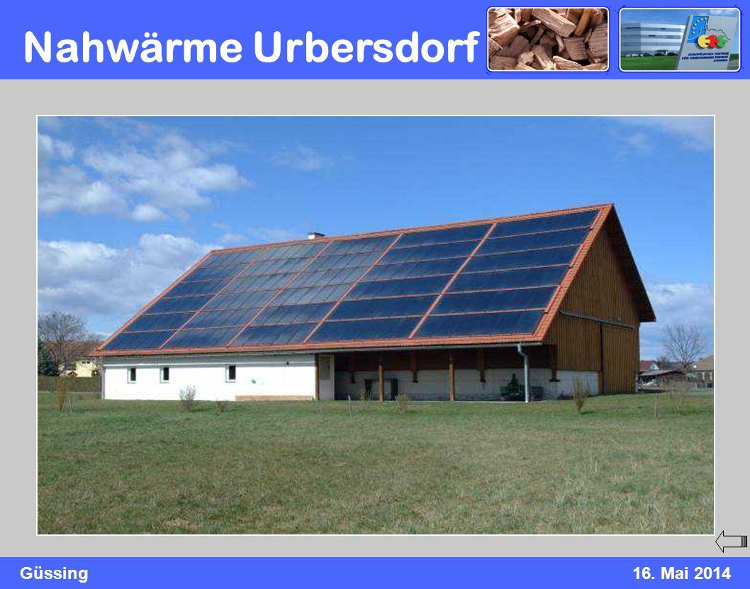 Güssing16. Mai 2014 Nahwärme Urbersdorf