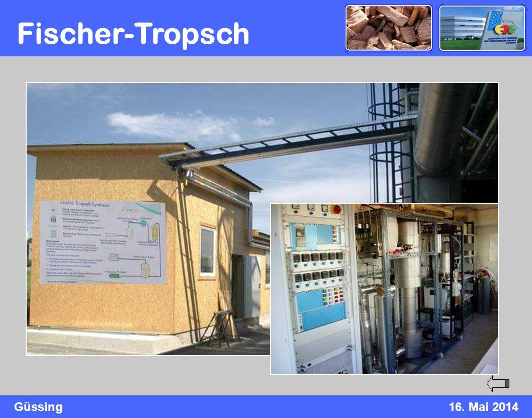 Güssing16. Mai 2014 Fischer-Tropsch