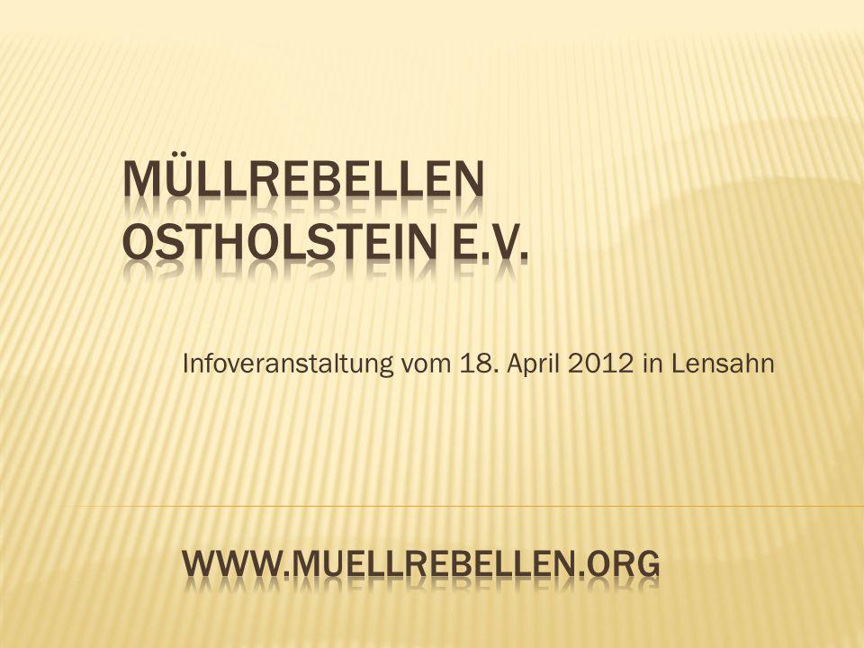 Infoveranstaltung vom 18. April 2012 in Lensahn