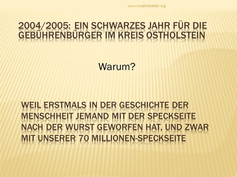 Warum? www.muellrebellen.org