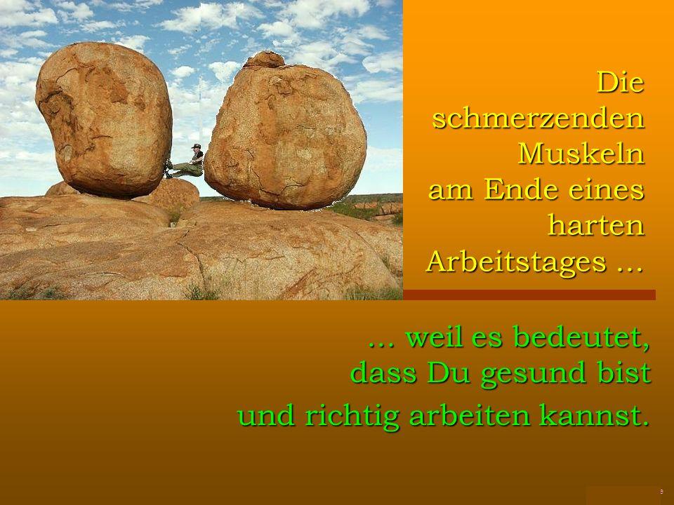 FunFriends www.FunFriends.de Die schmerzenden Muskeln am Ende eines harten Arbeitstages......