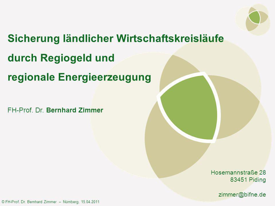 © FH-Prof. Dr. Bernhard Zimmer – Nürnberg, 15.04.2011 Was ist hier falsch?