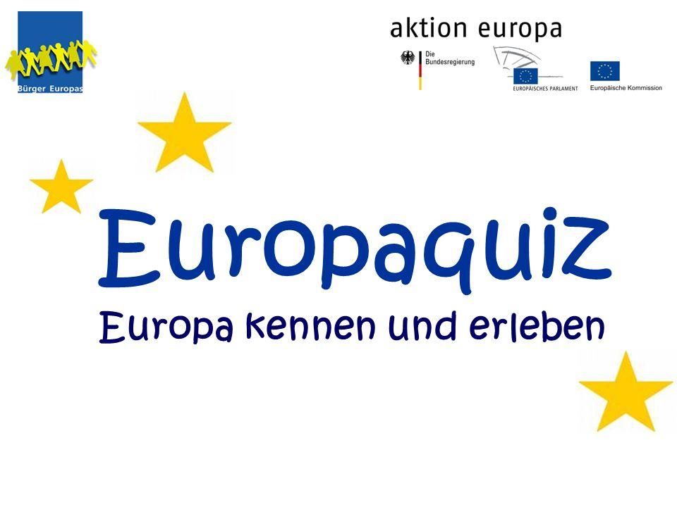 Europaquiz Europa kennen und erleben