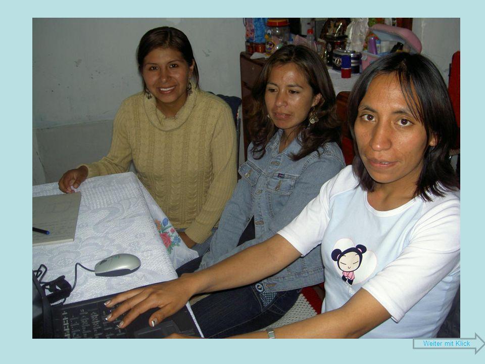 Gründung des Vereins Niños del porvenir 19.April 2008: Erste Sitzung 23.
