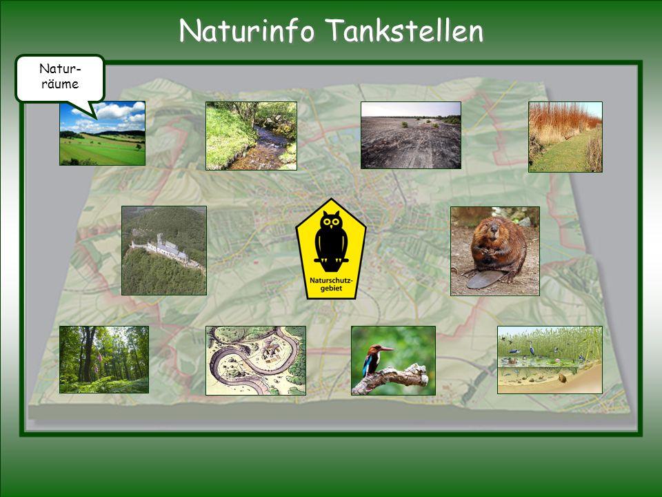 Natur- räume Naturinfo Tankstellen