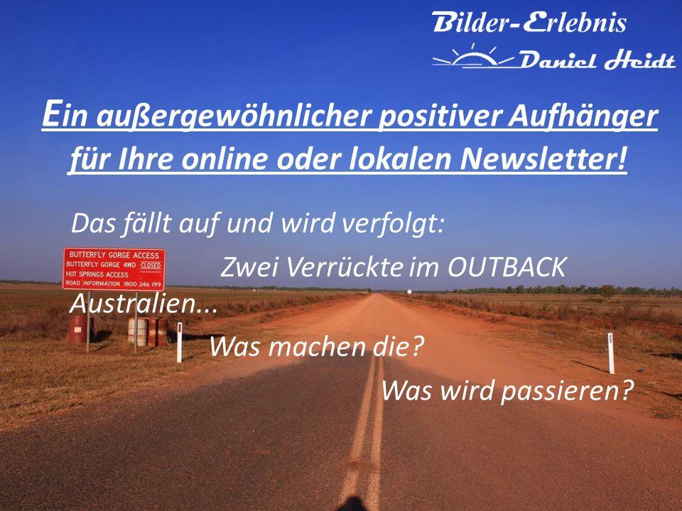 E in außergewöhnlicher positiver Aufhänger für Ihre online oder lokalen Newsletter.