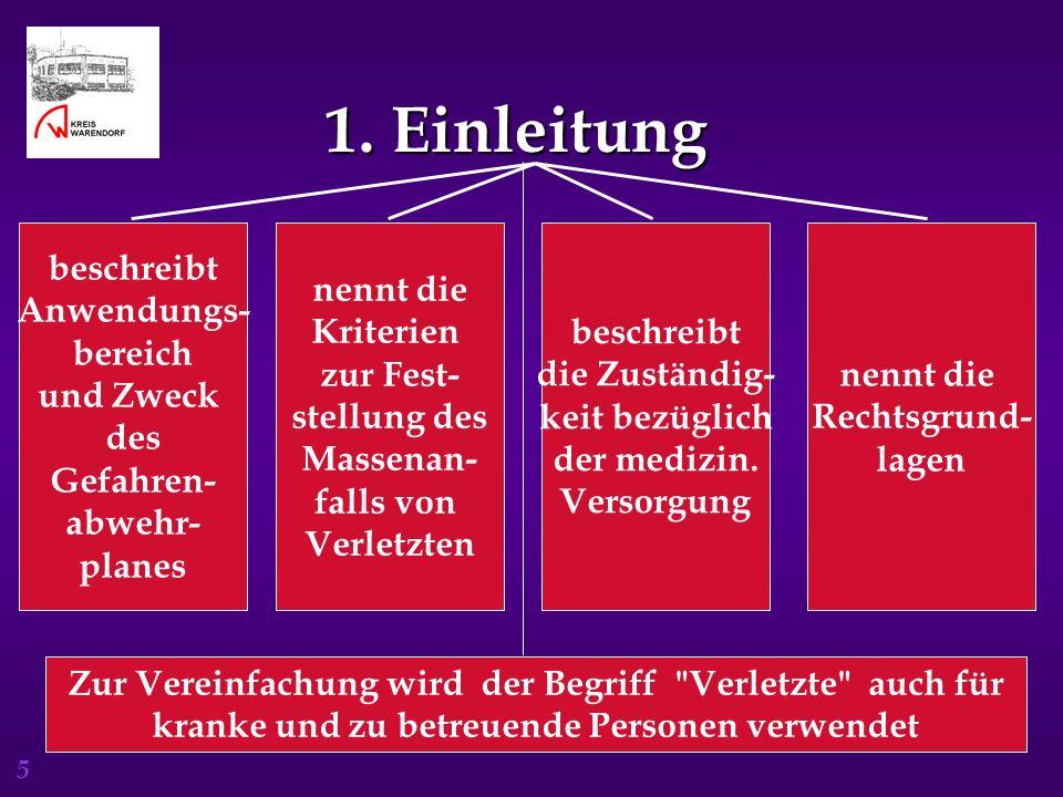 6 2.Organisation der Gefahrenabwehr 2.