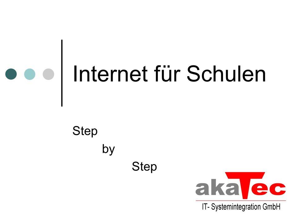Internet für Schulen Step by Step