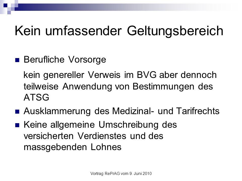 Vortrag RePrAG vom 9.Juni 2010 Definitionen (1) Art.