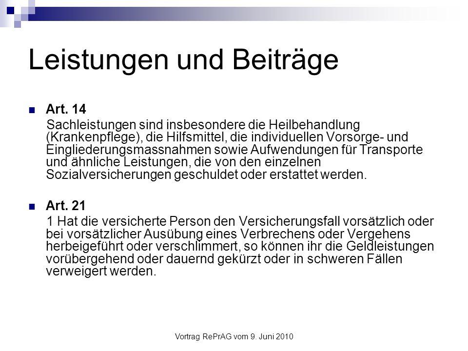 Vortrag RePrAG vom 9.