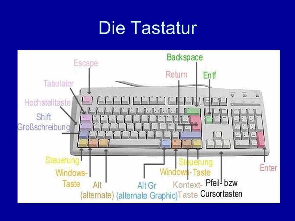 Diese Taste heißt Caps Lock-Taste und hat die Funktion in z.B.