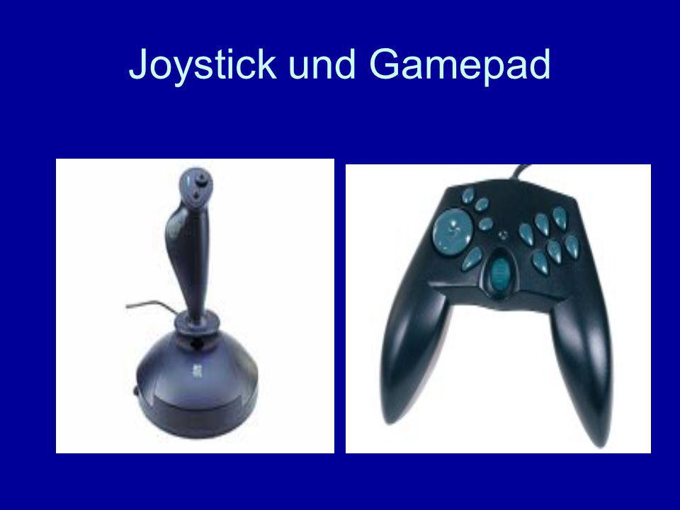 Joystick und Gamepad