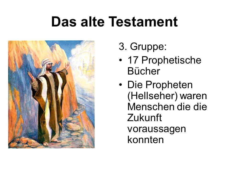 Das alte Testament 3.