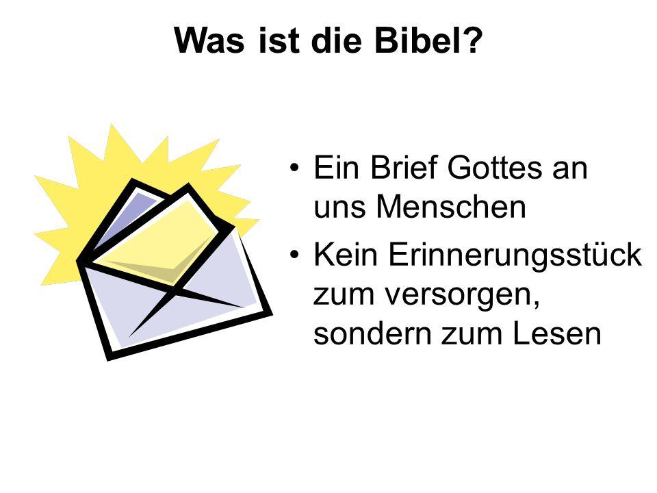 Was ist die Bibel.