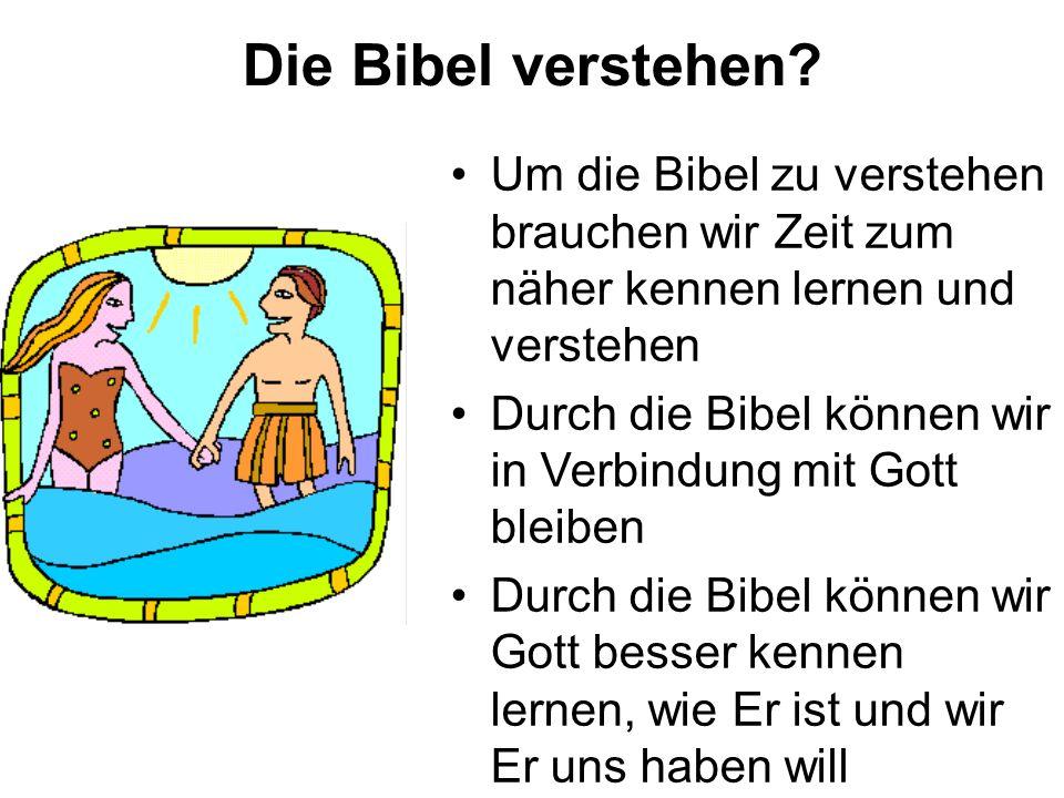 Die Bibel verstehen.