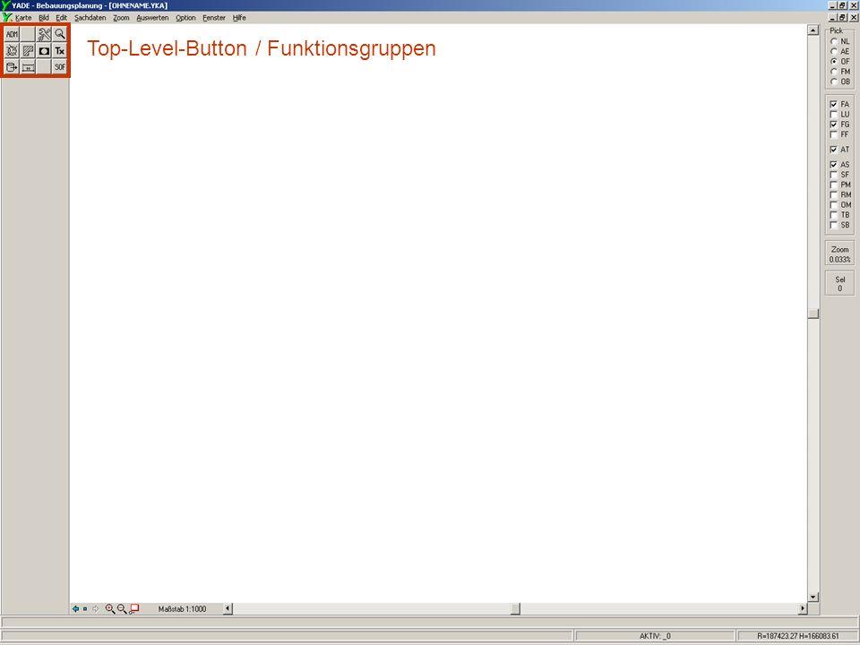 Schulung YADE-BPlan Copyright: SRP 6 Top-Level-Button / Funktionsgruppen Low-Level-Button