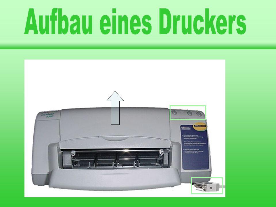 llgemeines rten von Druckern ufbau eines Druckers